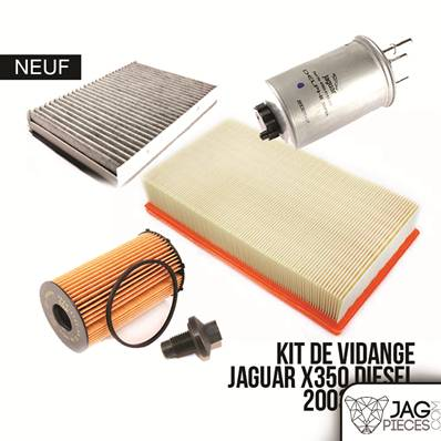 kit de vidange moteur x350 kvxjd jaguar xj x350. Black Bedroom Furniture Sets. Home Design Ideas