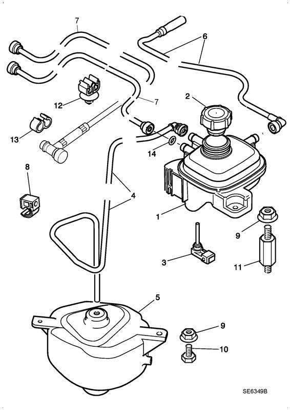 capteur de niveau de liquide de refroidissement lna5740ab jaguar x308. Black Bedroom Furniture Sets. Home Design Ideas