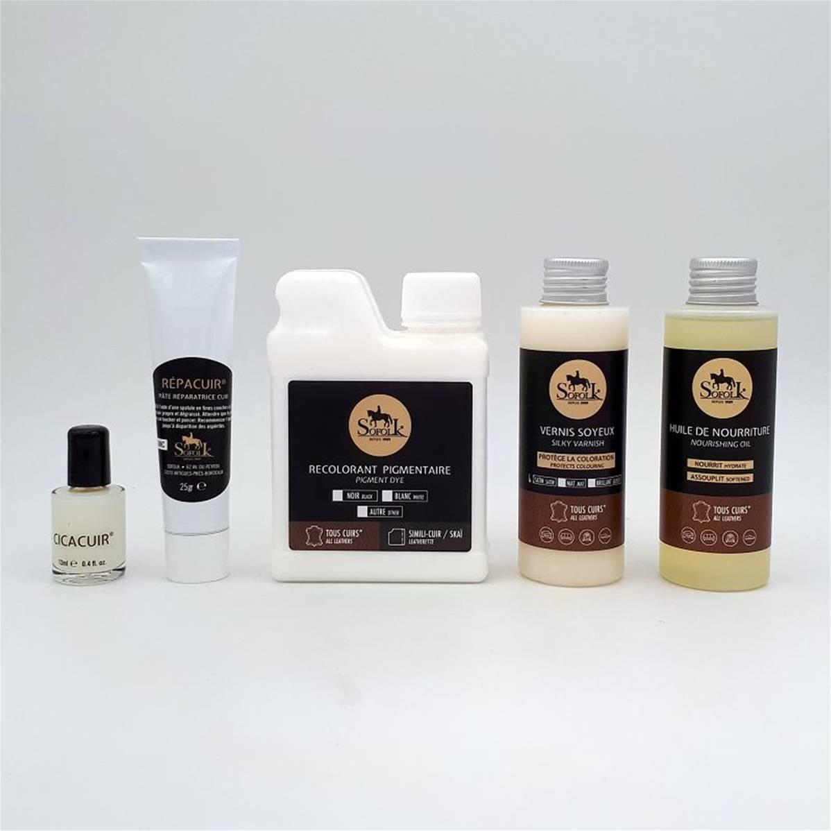 kit de r novation pour si ge en cuir noir r f rence sofkscn de jaguar xk8 1997 2006 v8 essence. Black Bedroom Furniture Sets. Home Design Ideas