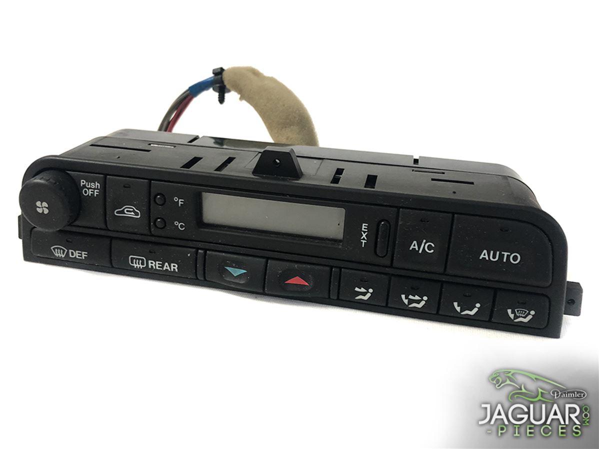 commande de climatisation sans pare brise chauffant d 39 occasion de jaguar x300 1995 1997 r f rence. Black Bedroom Furniture Sets. Home Design Ideas